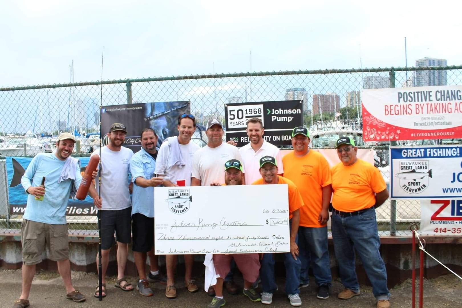 Brew City Tournament   Great Lakes Sport Fishermen